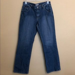 Chico's Platinum Crystal Jeans Size 2/12